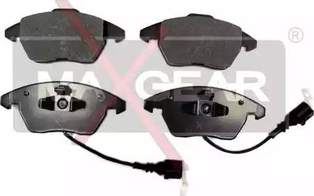 Maxgear 19-0638 - Piduriklotsi komplekt,ketaspidur multiparts.ee