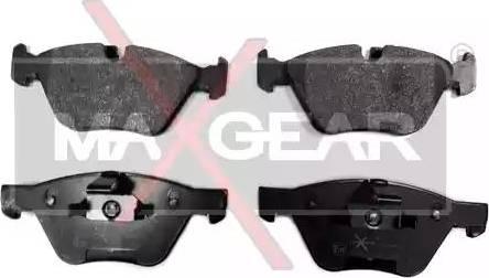 Maxgear 19-0637 - Piduriklotsi komplekt,ketaspidur multiparts.ee