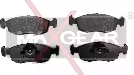 Maxgear 19-0629 - Piduriklotsi komplekt,ketaspidur multiparts.ee
