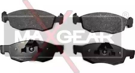Maxgear 19-0621 - Piduriklotsi komplekt,ketaspidur multiparts.ee