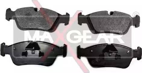 Maxgear 19-0623 - Piduriklotsi komplekt,ketaspidur multiparts.ee