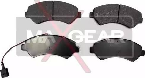 Maxgear 19-0674 - Piduriklotsi komplekt,ketaspidur multiparts.ee