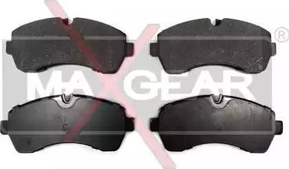 Maxgear 19-0675 - Piduriklotsi komplekt,ketaspidur multiparts.ee