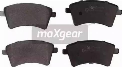 Maxgear 19-0899 - Piduriklotsi komplekt,ketaspidur multiparts.ee