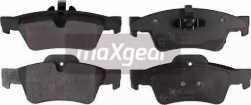 Maxgear 19-0891 - Piduriklotsi komplekt,ketaspidur multiparts.ee