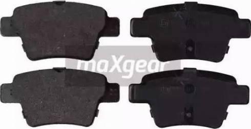 Maxgear 19-0897 - Piduriklotsi komplekt,ketaspidur multiparts.ee