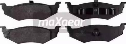 Maxgear 19-0865 - Piduriklotsi komplekt,ketaspidur multiparts.ee