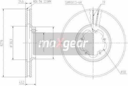 Maxgear 19-0814MAX - Piduriketas multiparts.ee