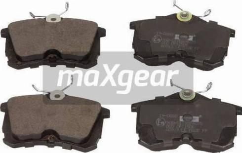 Maxgear 19-0880 - Piduriklotsi komplekt,ketaspidur multiparts.ee