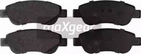 Maxgear 19-0870 - Piduriklotsi komplekt,ketaspidur multiparts.ee