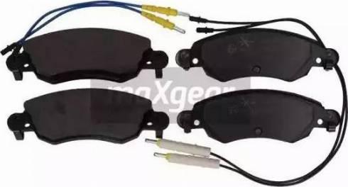 Maxgear 19-0872 - Piduriklotsi komplekt,ketaspidur multiparts.ee