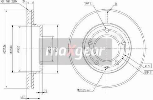 Maxgear 19-0713MAX - Piduriketas multiparts.ee