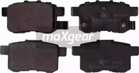 Maxgear 19-1476 - Piduriklotsi komplekt,ketaspidur multiparts.ee
