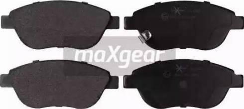 Maxgear 19-1540 - Piduriklotsi komplekt,ketaspidur multiparts.ee