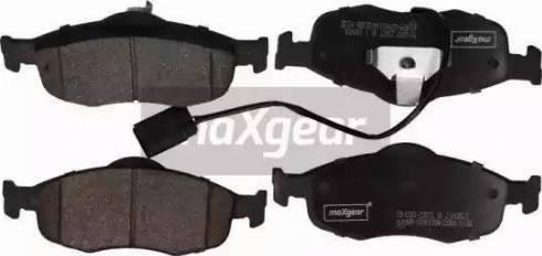 Maxgear 19-1093 - Piduriklotsi komplekt,ketaspidur multiparts.ee