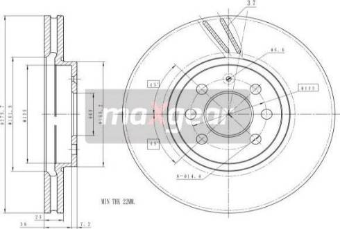 Maxgear 19-1065MAX - Piduriketas multiparts.ee