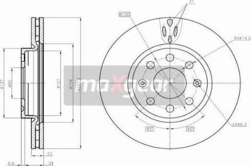 Maxgear 19-1063MAX - Piduriketas multiparts.ee