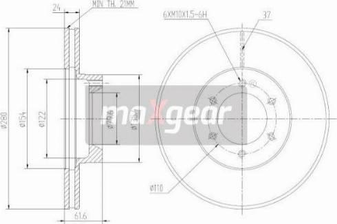 Maxgear 19-1005 - Piduriketas multiparts.ee