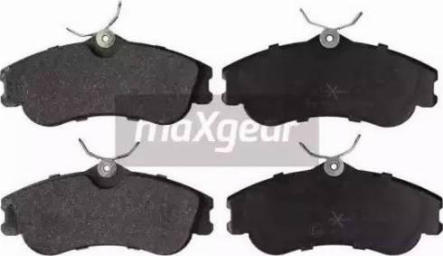 Maxgear 19-1080 - Piduriklotsi komplekt,ketaspidur multiparts.ee