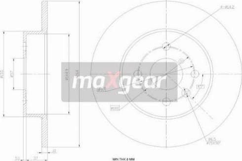 Maxgear 19-1020MAX - Piduriketas multiparts.ee