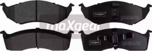 Maxgear 19-1079 - Piduriklotsi komplekt,ketaspidur multiparts.ee