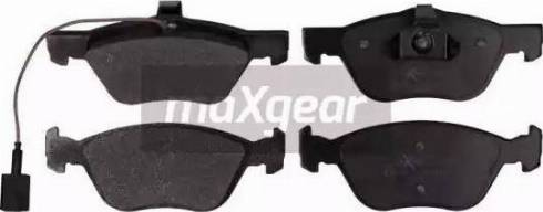 Maxgear 19-1075 - Piduriklotsi komplekt,ketaspidur multiparts.ee