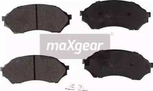 Maxgear 19-1142 - Piduriklotsi komplekt,ketaspidur multiparts.ee