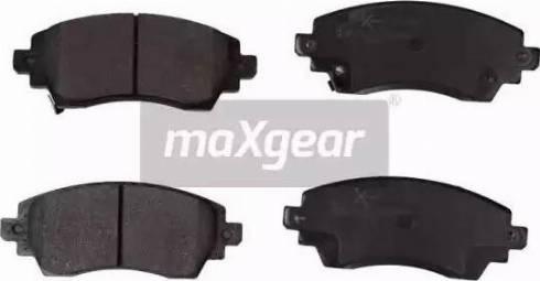 Maxgear 19-1154 - Piduriklotsi komplekt,ketaspidur multiparts.ee