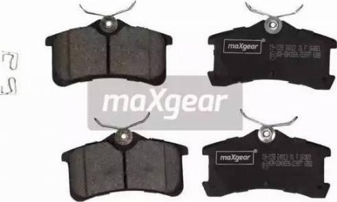 Maxgear 19-1158 - Piduriklotsi komplekt,ketaspidur multiparts.ee