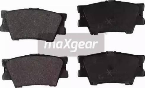 Maxgear 19-1161 - Piduriklotsi komplekt,ketaspidur multiparts.ee