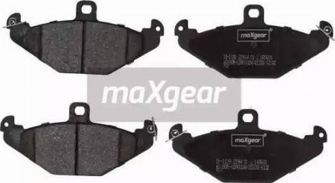 Maxgear 19-1109 - Piduriklotsi komplekt,ketaspidur multiparts.ee