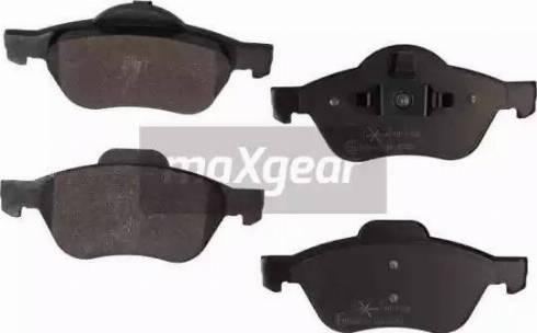 Maxgear 19-1102 - Piduriklotsi komplekt,ketaspidur multiparts.ee