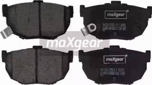 Maxgear 19-1134 - Piduriklotsi komplekt,ketaspidur multiparts.ee