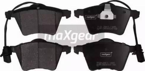 Maxgear 19-1124 - Piduriklotsi komplekt,ketaspidur multiparts.ee