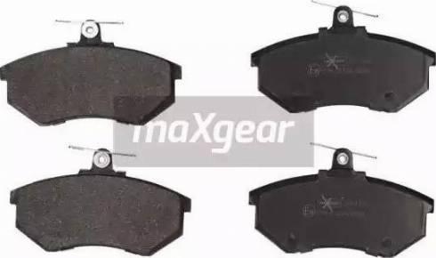 Maxgear 19-1123 - Piduriklotsi komplekt,ketaspidur multiparts.ee