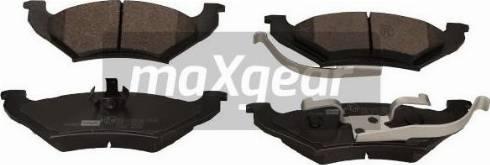 Maxgear 19-3408 - Piduriklotsi komplekt,ketaspidur multiparts.ee