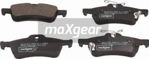 Maxgear 19-3015 - Piduriklotsi komplekt,ketaspidur multiparts.ee