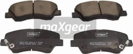 Maxgear 19-3032 - Piduriklotsi komplekt,ketaspidur multiparts.ee