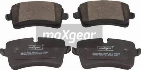 Maxgear 19-3026 - Piduriklotsi komplekt,ketaspidur multiparts.ee