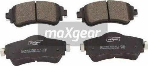 Maxgear 19-3027 - Piduriklotsi komplekt,ketaspidur multiparts.ee