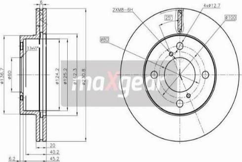 Maxgear 19-3346 - Piduriketas multiparts.ee