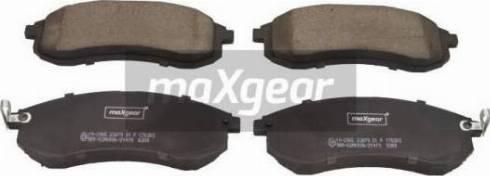 Maxgear 19-2965 - Piduriklotsi komplekt,ketaspidur multiparts.ee