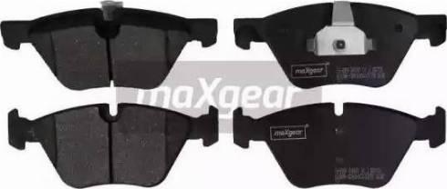 Maxgear 19-2904 - Piduriklotsi komplekt,ketaspidur multiparts.ee