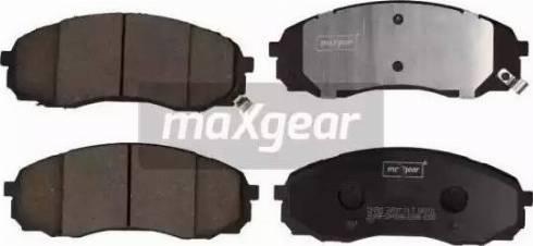 Maxgear 19-2901 - Piduriklotsi komplekt,ketaspidur multiparts.ee