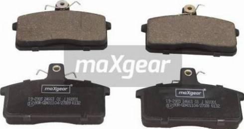 Maxgear 19-2903 - Piduriklotsi komplekt,ketaspidur multiparts.ee