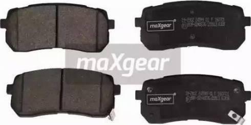 Maxgear 19-2902 - Piduriklotsi komplekt,ketaspidur multiparts.ee