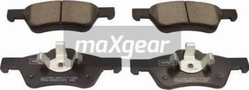 Maxgear 19-2984 - Piduriklotsi komplekt,ketaspidur multiparts.ee