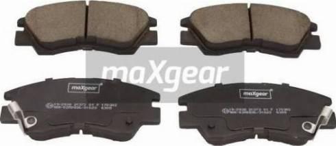 Maxgear 19-2938 - Piduriklotsi komplekt,ketaspidur multiparts.ee