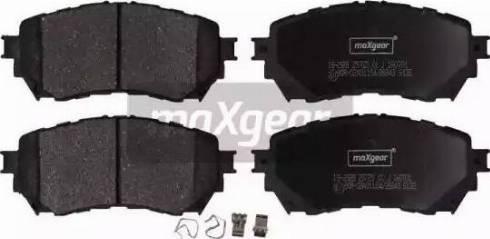Maxgear 19-2928 - Piduriklotsi komplekt,ketaspidur multiparts.ee
