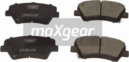 Maxgear 19-2927 - Piduriklotsi komplekt,ketaspidur multiparts.ee